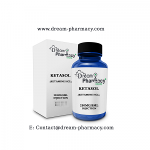 KETASOL (KETAMINE HCL) 250MG 5ML INJECTION